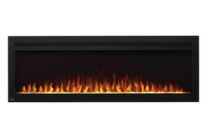 Napoleon PurView 60'' Wall Mount / Recessed Recessed Electric Fireplace