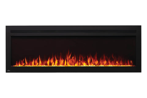 Image of Napoleon Purview 60 Inch Wall Mount Built In Recessed Electric Fireplace | NEFL60HI | Pureview Electric Insert | Electric Fireplaces Depot