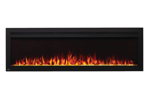 Napoleon Purview 72 Inch Wall Mount Built In Recessed Electric Fireplace | NEFL72HI | Pureview Electric Insert | Electric Fireplaces Depot