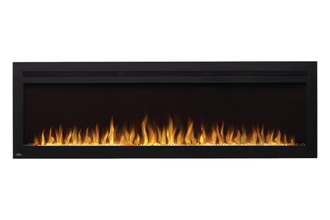Image of Napoleon Purview 72 Inch Wall Mount Built In Recessed Electric Fireplace | NEFL72HI | Pureview Electric Insert | Electric Fireplaces Depot