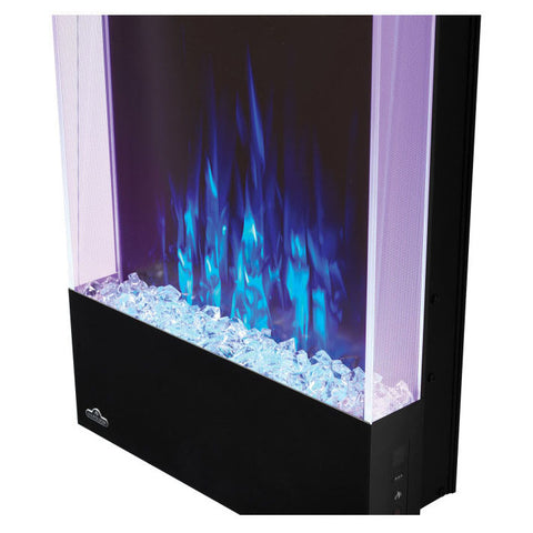 Napoleon Allure Vertical 32 Inch Wall Mount Electric Fireplace - NEFVC32H - Electric Fireplaces Depot