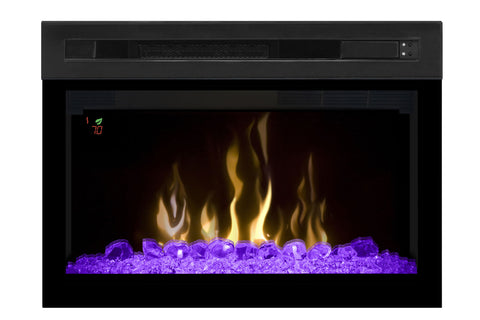 Image of Dimplex 25'' Multi-Fire XD Electric Firebox - Fireplace - Insert - Heater - Glass - PF2325HG - Electric Fireplaces Depot