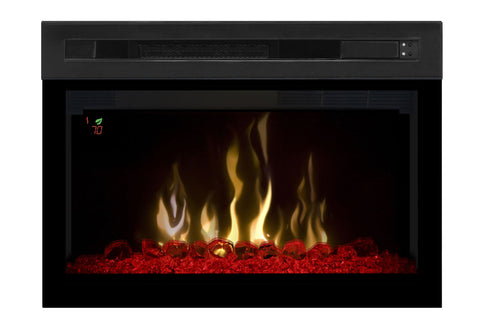 Dimplex 25'' Multi-Fire XD Electric Firebox - Fireplace - Insert - Heater - Glass - PF2325HG - Electric Fireplaces Depot