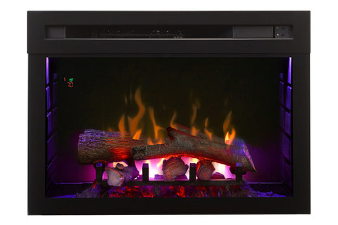 Dimplex 25'' Multi-Fire XD Electric Firebox - Insert - Logs - Fireplace - Heater - PF2325HL - Electric Fireplaces Depot