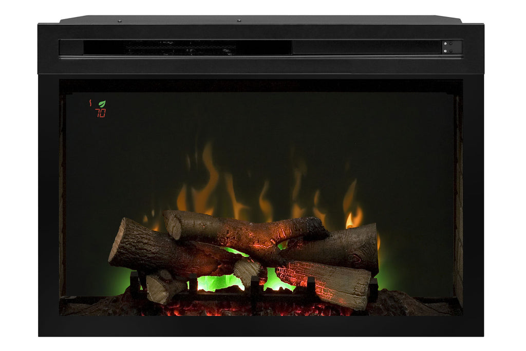 Dimplex 33'' Multi-Fire XD Electric Firebox - Fireplace - Insert - Heater - Logs - PF3033HL - Electric Fireplaces Depot