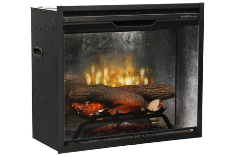 Image of Dimplex Revillusion 24 inch Built In Electric Fireplace - Firebox - Heater - RBF24DLXWC - Electric Fireplaces Depot