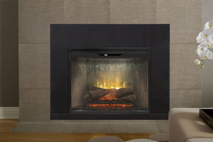 Dimplex Revillusion 30 inch Built-In Electric Firebox | Weathered Concrete
