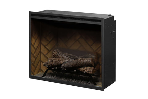 Image of Dimplex Revillusion 30 inch Built In Electric Fireplace - Firebox - Heater - RBF30 - Electric Fireplaces Depot