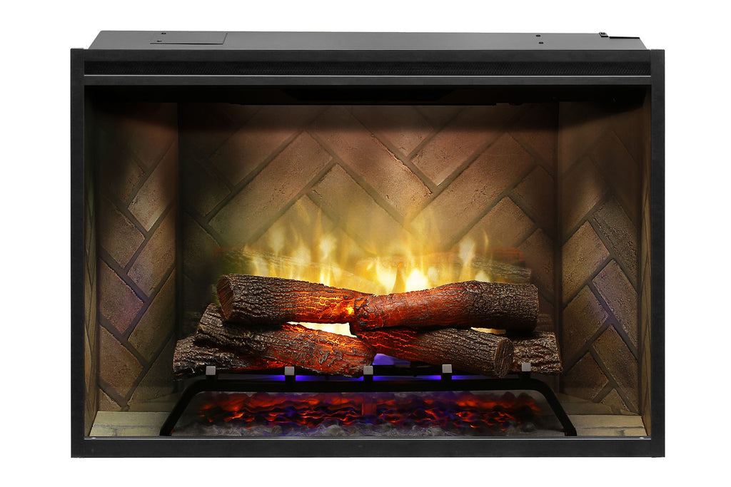 Dimplex Revillusion 36 inch Built-In Electric Fireplace - Firebox - Heater - RBF36 - Electric Fireplaces Depot
