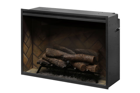 Image of Dimplex Revillusion 36 inch Built-In Electric Fireplace - Firebox - Heater - RBF36 - Electric Fireplaces Depot