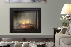 Dimplex Revillusion 42 inch Built-In Electric Firebox | Weathered Concrete