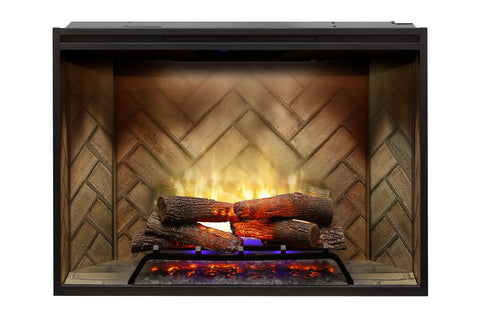 Image of Dimplex Revillusion 42 inch Built-In Electric Fireplace - Firebox - Heater - RBF42 - Electric Fireplaces Depot
