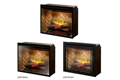 Image of Dimplex Revillusion 36 inch Built-In Electric Firebox
