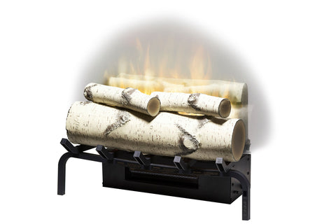 "Image of Dimplex Revillusion 20"" Electric Birchwood Log Insert"