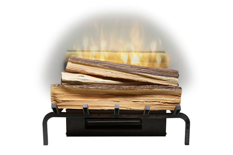 "Image of Dimplex Revillusion 20"" Electric Fresh Cut Wood Log Insert"