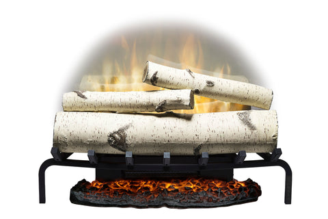 "Image of Dimplex Revillusion 25"" Electric Birchwood Log Insert"