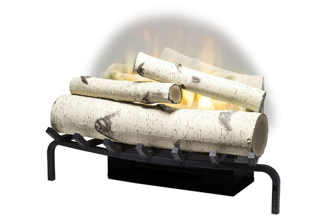 "Image of ""Open Box"" Dimplex Revillusion 25"" Electric Birchwood Log Insert"