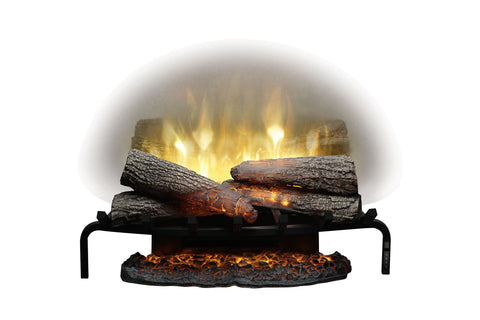 Image of Dimplex Revillusion 25 inch Electric Fireplace Log Insert - Heater - RLG25 - Electric Fireplaces Depot