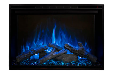 Image of Modern Flames Redstone 36 inch Built In Electric Fireplace Insert | Electric Firebox Heater | RS-3626 | Electric Fireplaces Depot