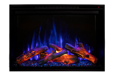 Image of Modern Flames Redstone 30 inch Built In Electric Fireplace Insert | Electric Firebox Heater | RS-3021 | Electric Fireplaces Depot