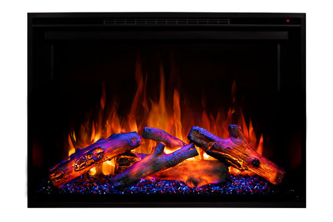 Modern Flames Redstone 26 inch Built In Electric Fireplace Insert | Electric Firebox Heater | RS-2621 | Electric Fireplaces Depot