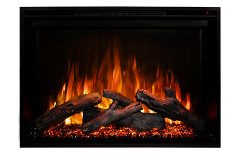 Image of Modern Flames Redstone 26 inch Built In Electric Fireplace Insert | Electric Firebox Heater | RS-2621 | Electric Fireplaces Depot