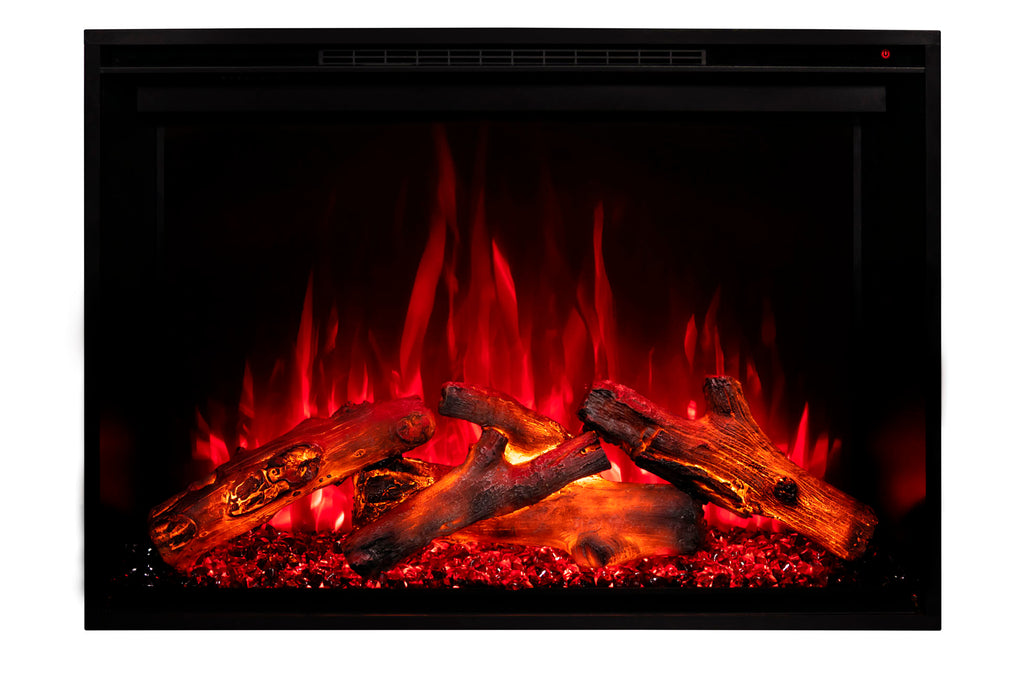Modern Flames Redstone 30 inch Built In Electric Fireplace Insert | Electric Firebox Heater | RS-3021 | Electric Fireplaces Depot