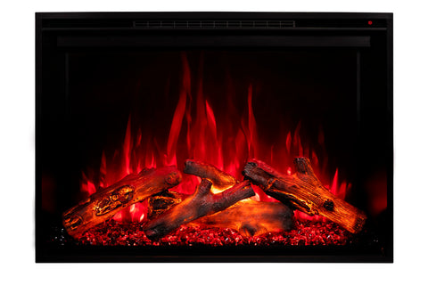 Image of Modern Flames Redstone 54 inch Built In Electric Fireplace Insert | Electric Firebox Heater | RS-5435 | Electric Fireplaces Depot