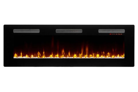 Dimplex Sierra 60 Inch Wall-Mount Built In Linear Electric Fireplace - SIL60 - Electric Fireplaces Depot