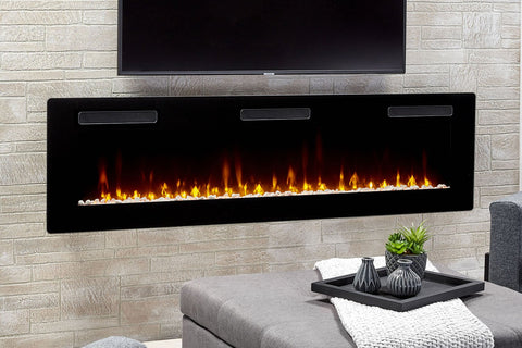 Image of Dimplex Sierra 72 Inch Wall-Mount Built In Linear Electric Fireplace - SIL72 - Electric Fireplaces Depot