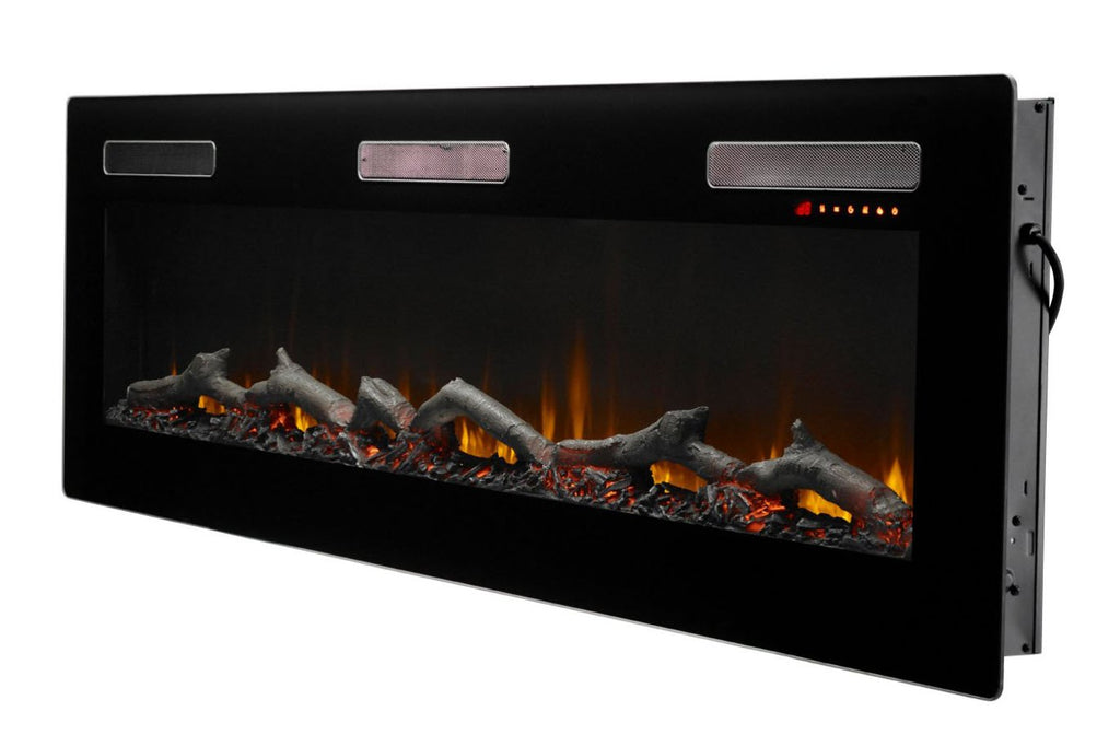 Dimplex Sierra 72 Inch Wall-Mount Built In Linear Electric Fireplace - SIL72 - Electric Fireplaces Depot