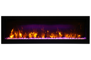 Amantii Symmetry 50'' Built In Linear Electric Fireplace
