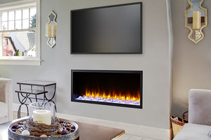 Hearth & Home SimpliFire Scion 43'' Built-In Linear Electric Fireplace