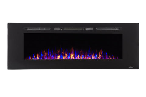 "Touchstone Sideline 60"" Built-in Electric Fireplace"