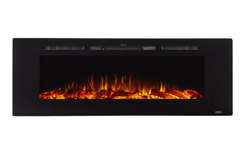 Image of Touchstone Sideline 60 inch Built-in Electric Fireplace - Heater - 80011 - Electric Fireplaces Depot