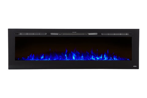 Touchstone Sideline 72 inch Built-in Electric Fireplace - Heater - 80015 - Electric Fireplaces Depot