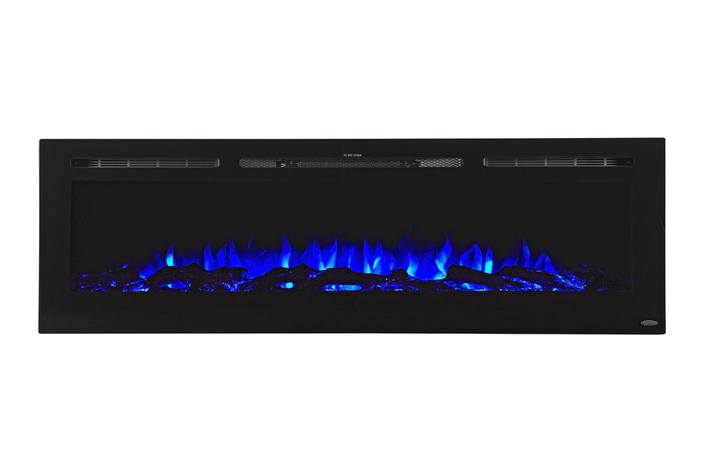 "Touchstone Sideline 72"" Built-in Electric Fireplace"