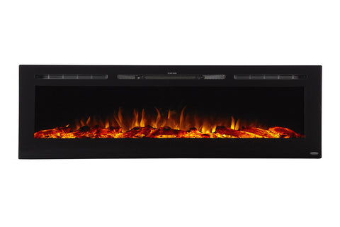 "Image of Touchstone Sideline 72"" Built-in Electric Fireplace"