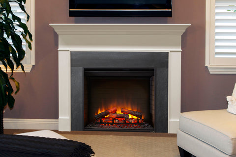 Hearth & Home SimpliFire 30 inch Built-In Electric Firebox Insert | Electric Fireplace | SF-BI30-EB | Electric Fireplaces Depot