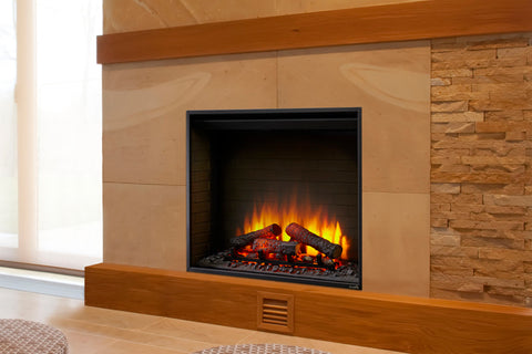 Hearth & Home SimpliFire 36 inch Built-In Electric Firebox Insert | Electric Fireplace | SF-BI36-EB | Electric Fireplaces Depot