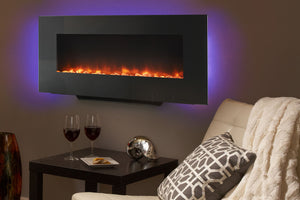 Hearth & Home SimpliFire 58'' Wall Mount Linear Electric Fireplace