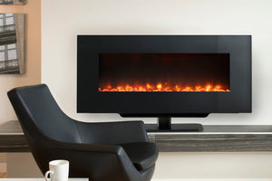 Hearth & Home SimpliFire 38'' Wall Mount Freestanding Electric Fireplace