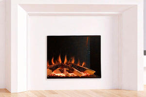 Evonicfires Tyrell 32'' Halo Series Built-In Electric Fireplace | Firebox