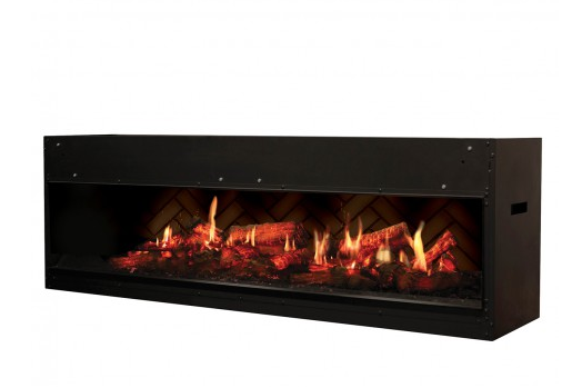 Dimplex 55 Inch Opti-V Duet Virtual Built-In Eelectric Fireplace - VF5452L - Electric Fireplaces Depot
