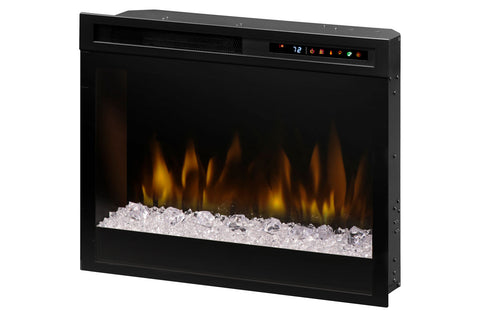 Image of Dimplex 23'' Multi-Fire XHD Plug-In Electric Firebox Insert - Logs | XHD23G | Electric Fireplaces Depot