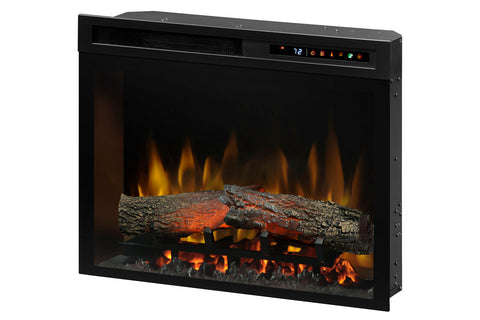 Image of Dimplex 23'' Multi-Fire XHD Plug-In Electric Firebox Insert - Logs | XHD23L | Electric Fireplaces Depot