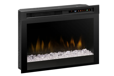 Image of Dimplex 26'' Multi-Fire XHD Electric Firebox - Fireplace - Insert - Heater - Glass - XHD26G - Electric Fireplaces Depot