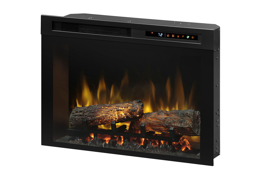 Dimplex 26'' Multi-Fire XHD Electric Firebox - Fireplace - Insert - Heater - Logs - XHD26L - Electric Fireplaces Depot