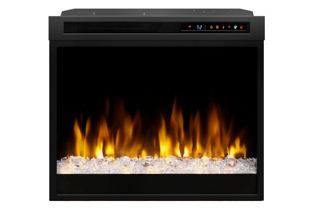 "Dimplex 28"" Multi-Fire XHD Plug-in Electric Firebox w/ Acrylic Glass"