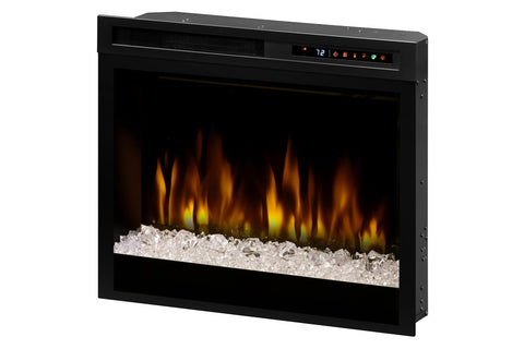 Image of Dimplex 28'' Multi-Fire XHD Plug-In Electric Firebox Insert - Glass | XHD28G | Electric Fireplaces Depot